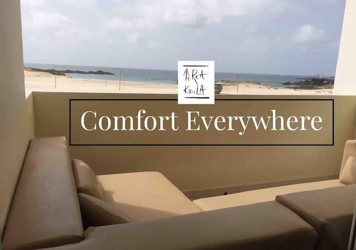 Terra Kriola @ Smart Home - A/C - WiFi - Seaview