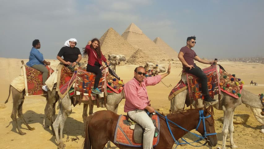 COME WITH US TO THE PYRAMIDS NO((1) - giza  - Lägenhet