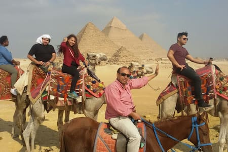 COME WITH US TO THE PYRAMIDS NO((1) - giza  - Apartmen