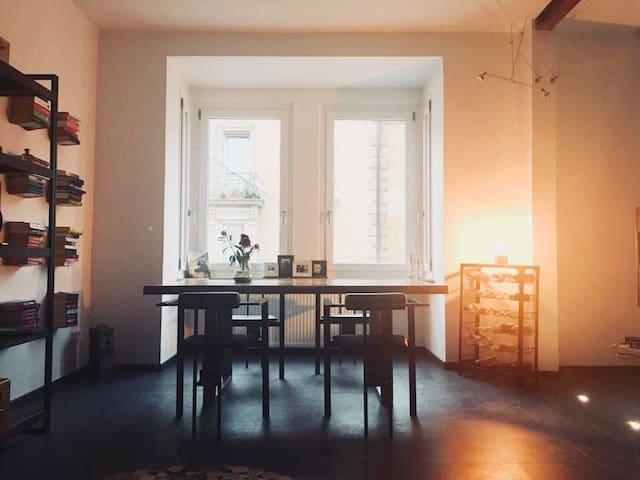 Zentral, günstig & modern. Wohnung im Loft-Stil