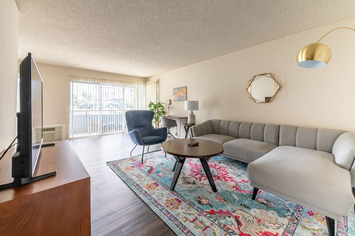 Furnished 2BR in Santa Clara Near Apple HQ