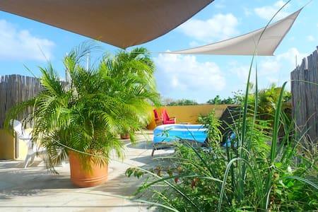Penthouse suite, giant private chillout roof top - Playa del Carmen - Lägenhet