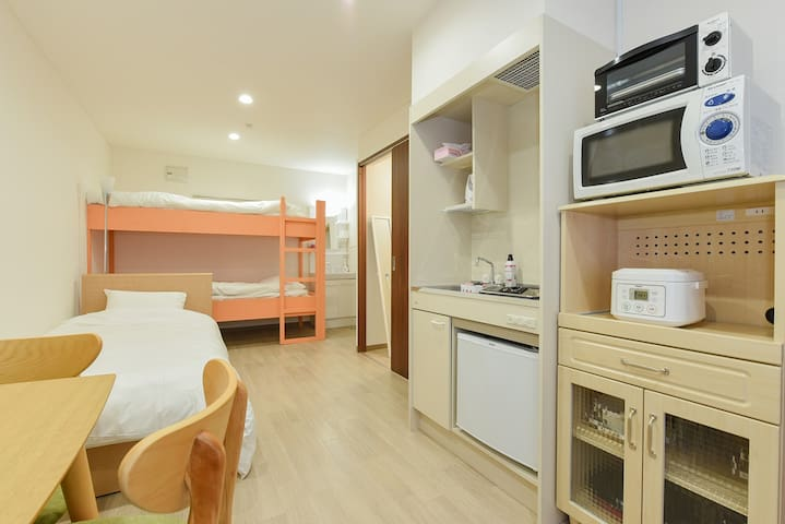 (Phone number hidden by Airbnb) min to Sapporo st★Good location!