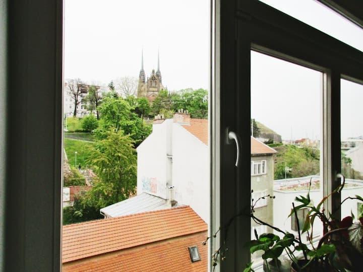 Atraktivní bydlení v centru Brna