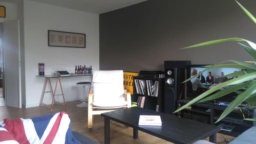 Idéalement situé, appartement lumineux - Lille - Kondominium
