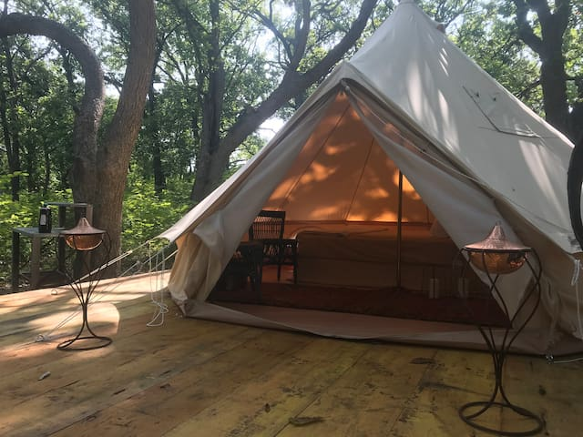 Glamping in MHK