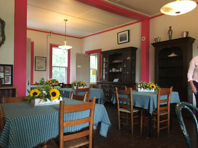 Common areas inside the Inn are available for guests' use