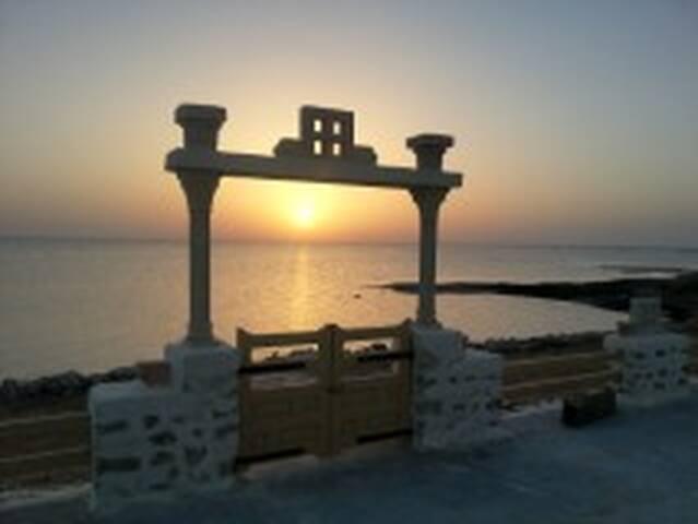 Trés belle villas pieds dans l'eau - Kerkennah - วิลล่า