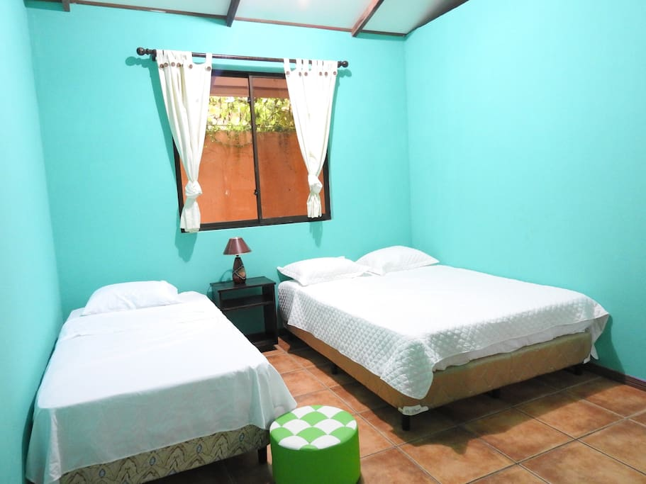 Very comfy room! can be share with others! nice sealing fan