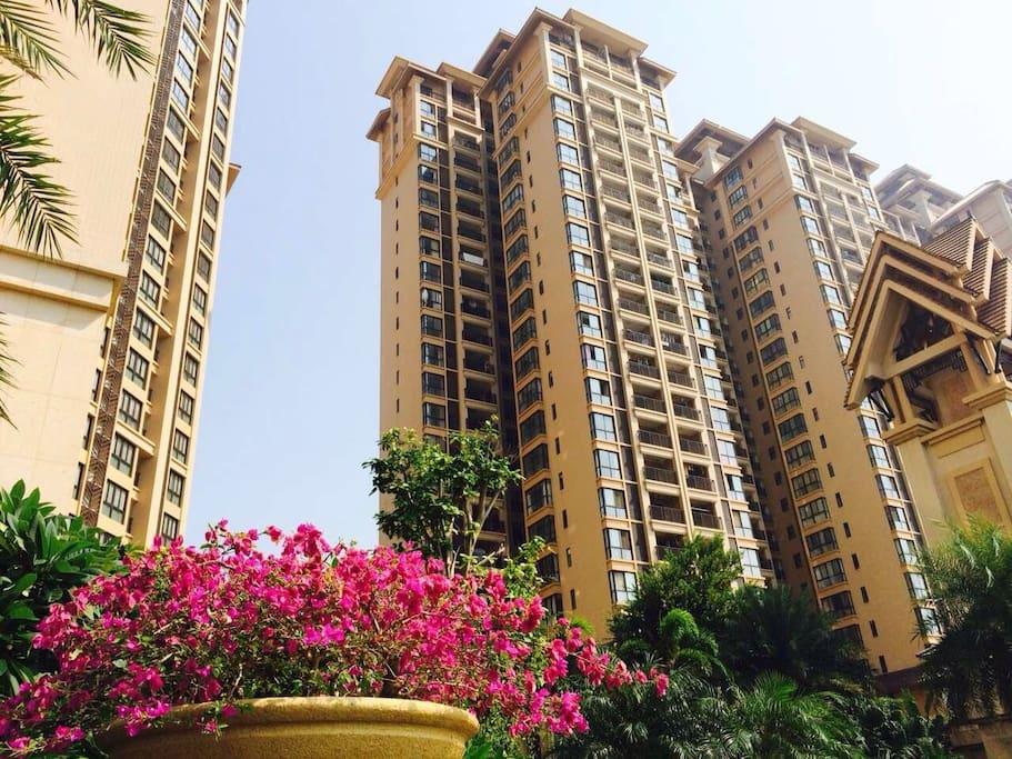 楼盘建筑,东南亚风格