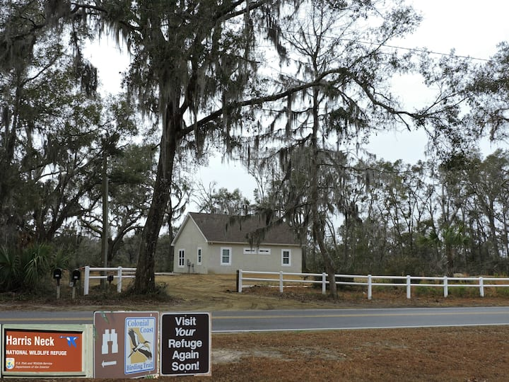 Harris Neck National Wildlife Refuge Cabin-Suite B