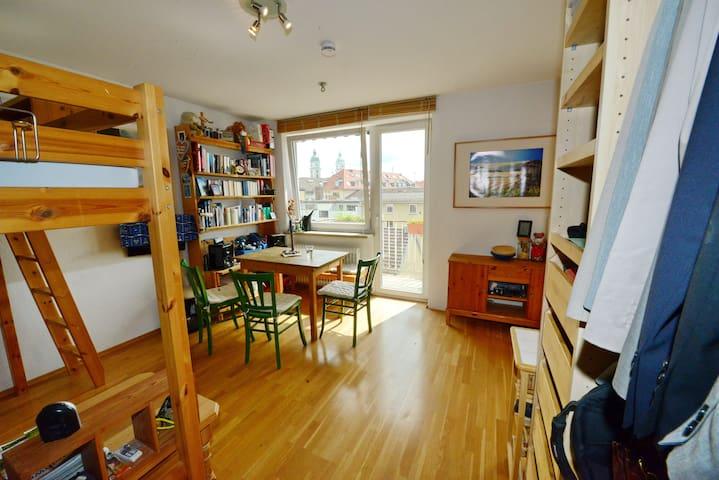 Kleines Apartment - praktisch, zentral & gemütlich
