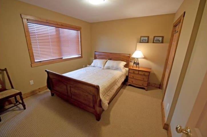 Third bedroom on bottom level