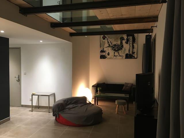 Jazzy loft