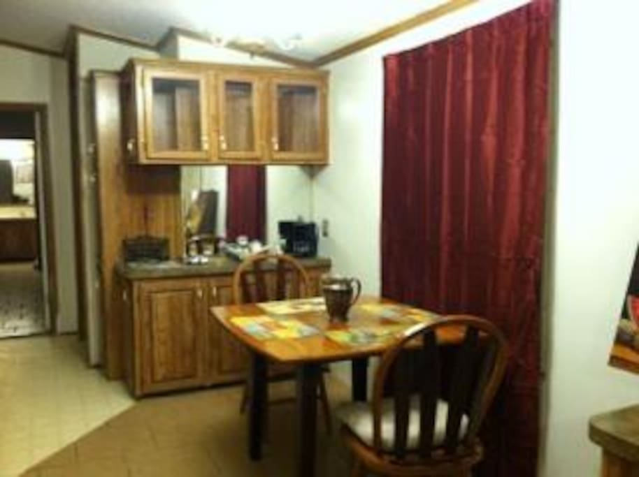 Dishes & Dining Room Available