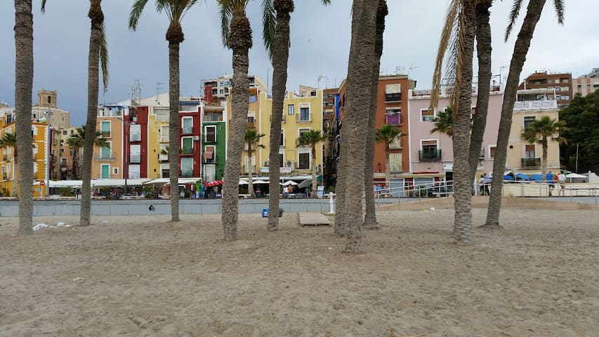 Leuke studio op 20 seconden van prachtig strand - La Vila Joiosa/Villajoyosa - Wohnung