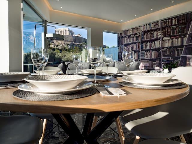Luxury Veni Acropolis View Apartment