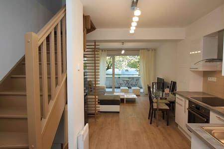 Duplex 53m2 proche Centre ville refait à neuf - Reims - Wohnung