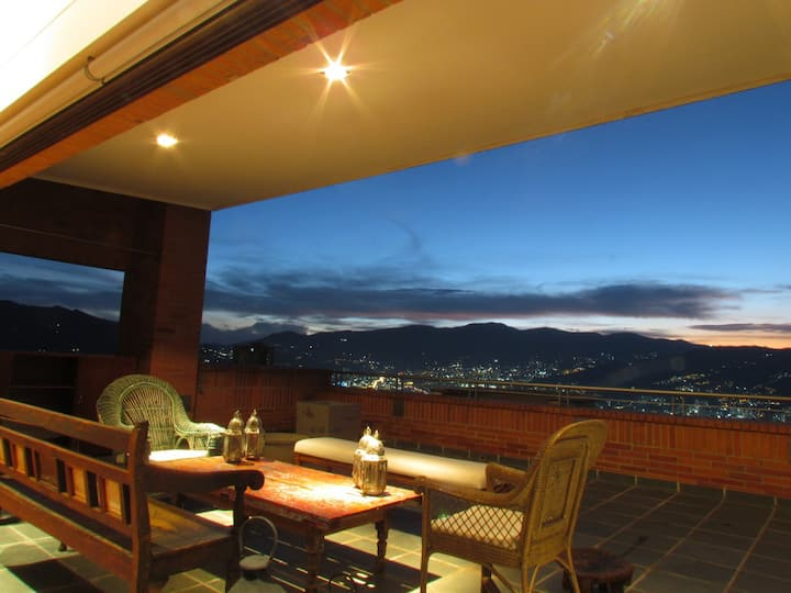 Loft entero con espectacular vista