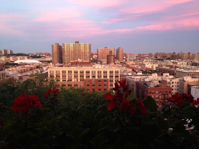 Top 7th floor sunny 1 bedroom - Sugar Hill, Harlem