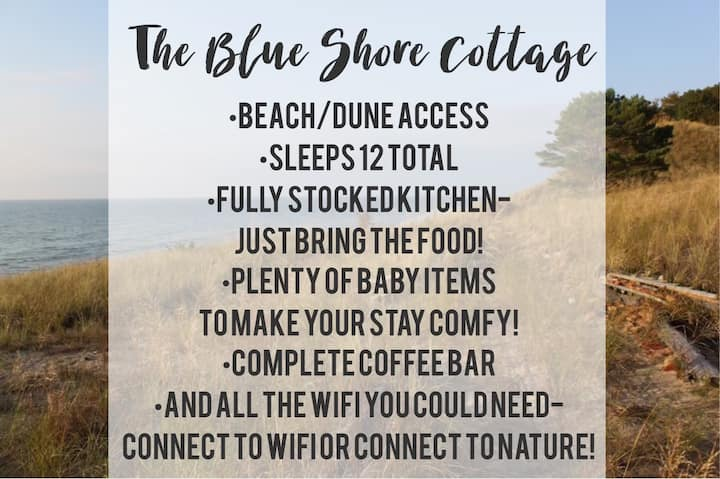 OPEN MEM. DAY-Sleeps 12(4bdrm) Blue Shore Cottage