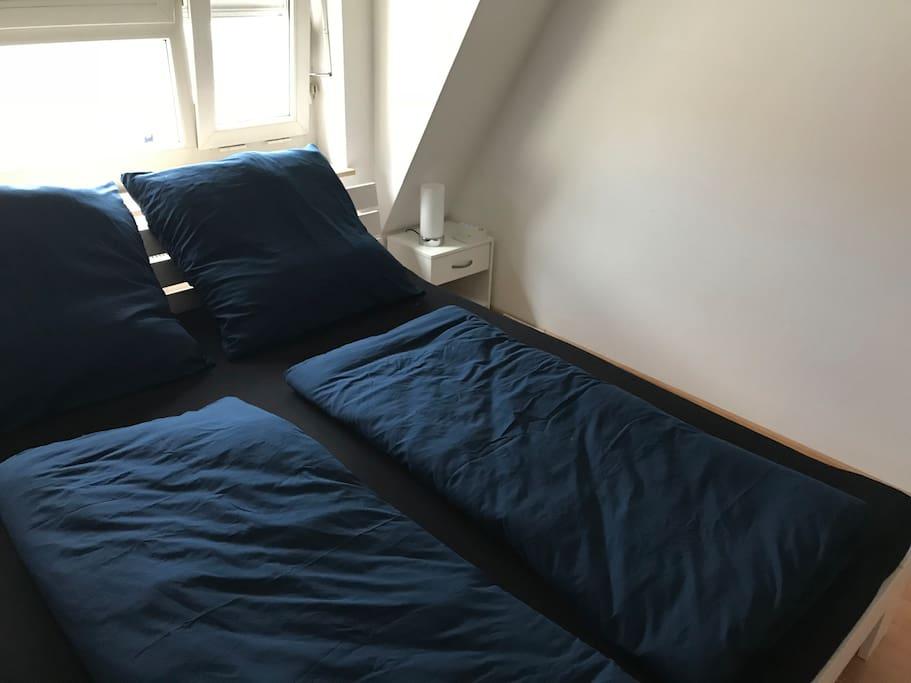 riesiges Bett - 1,80x2m