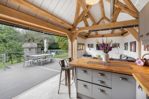 Orchard Barn. Industrial Chic cerca de Bath.