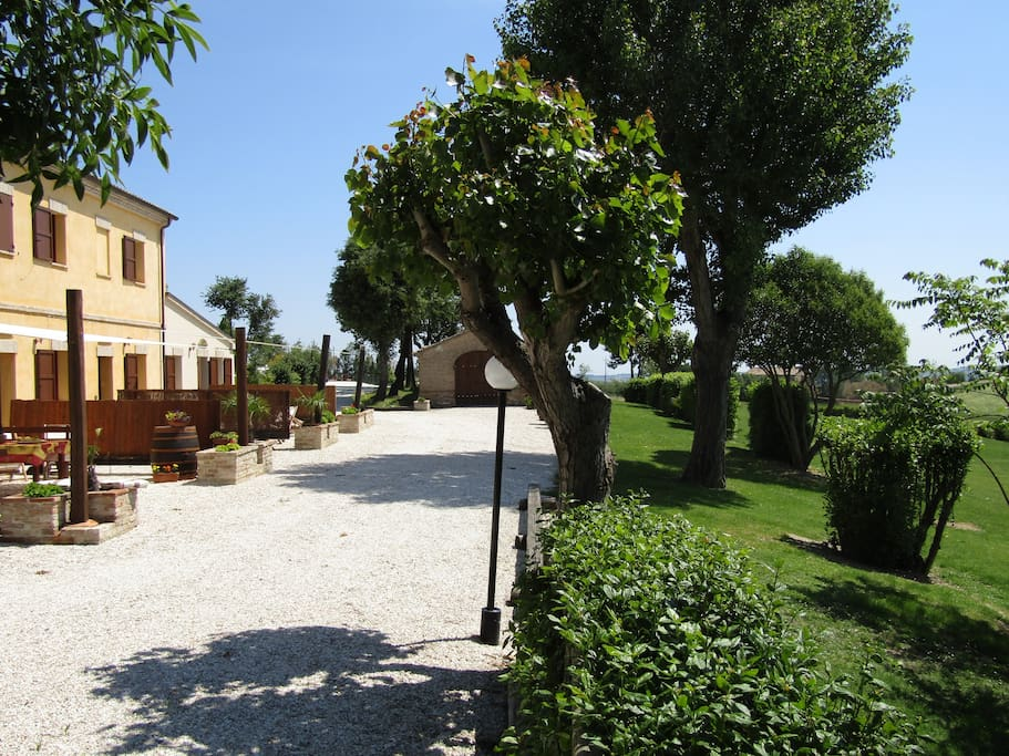 Fronte dell'Agriturismo