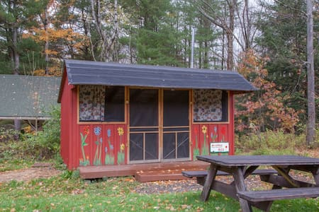 Rustic Camping Cabin on Hammond Hill - Freeville