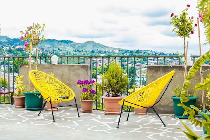 ☀ SunRise Terrace ☀Apartment w/ Special View