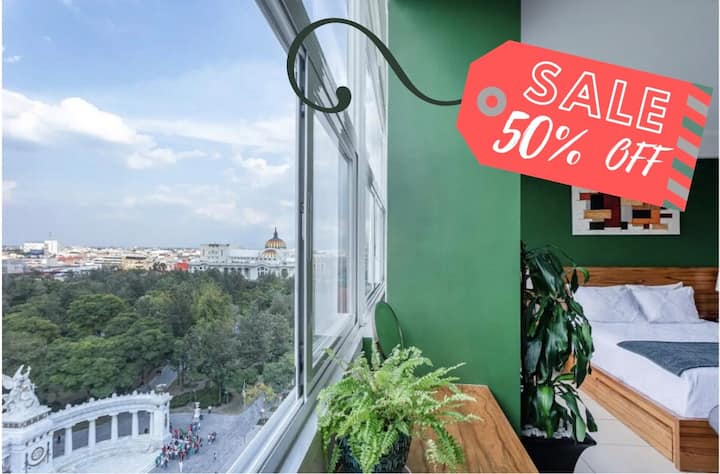⚡50% OFF ! BellasArtesView- Top Location