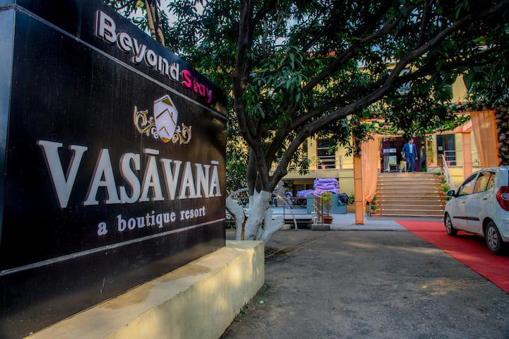 Beyond Stay Vasavana Resort Corbett Deluxe Room