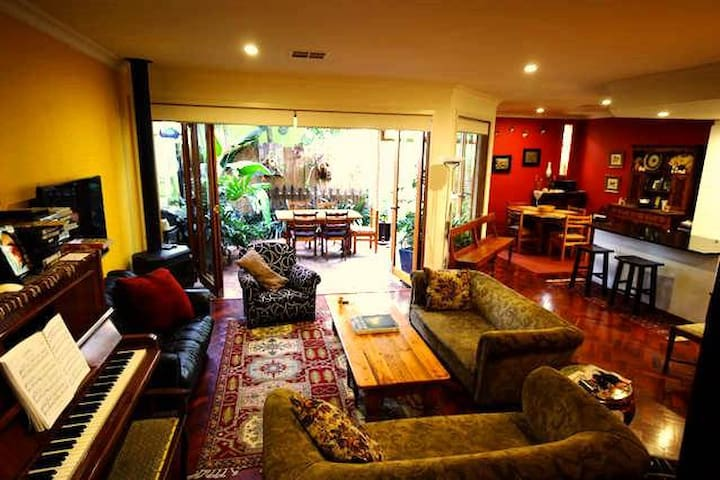 2 private rooms, Style on Hutt + ensuite + parking - Adelaide - Hus