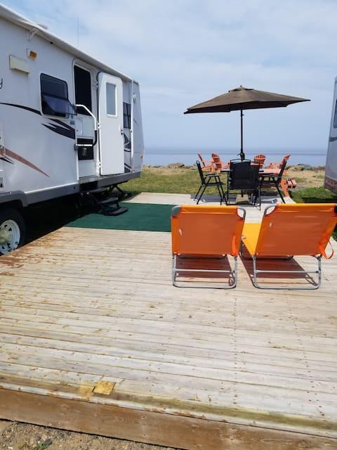 Oceanfront family friendly camper - Camper 3