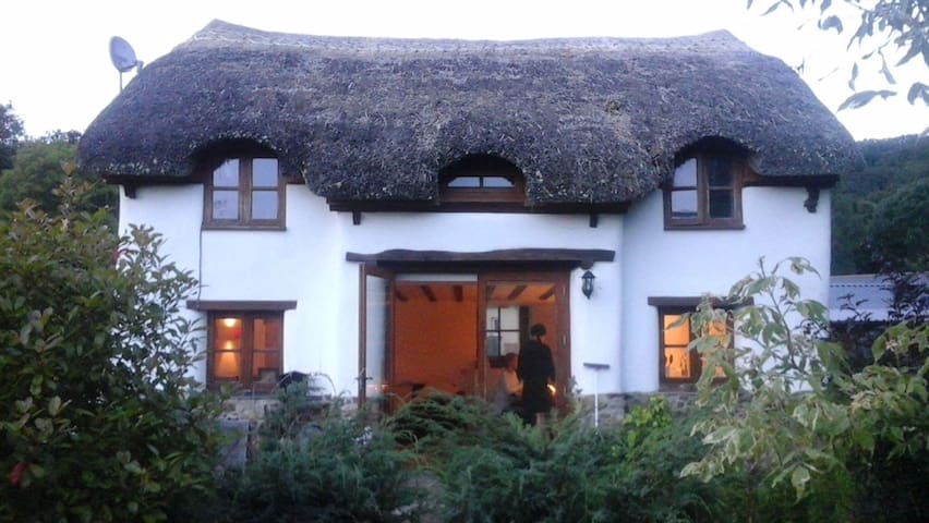 3 Bed Thatched cottage on the edge of Dartmoor