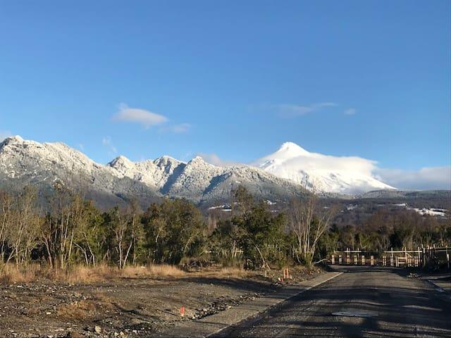 Vistas del volcán en Pucon.Excelente ubicación