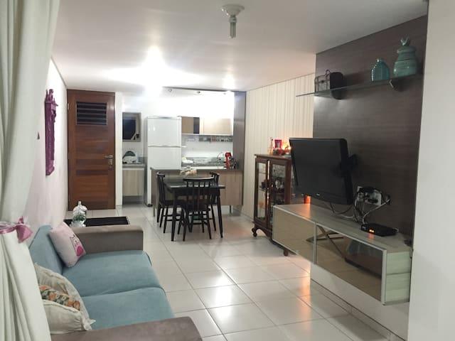 Apartamento a 100 metros da praia de Tambaú