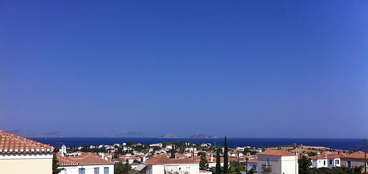 Spetses Villa with Great View