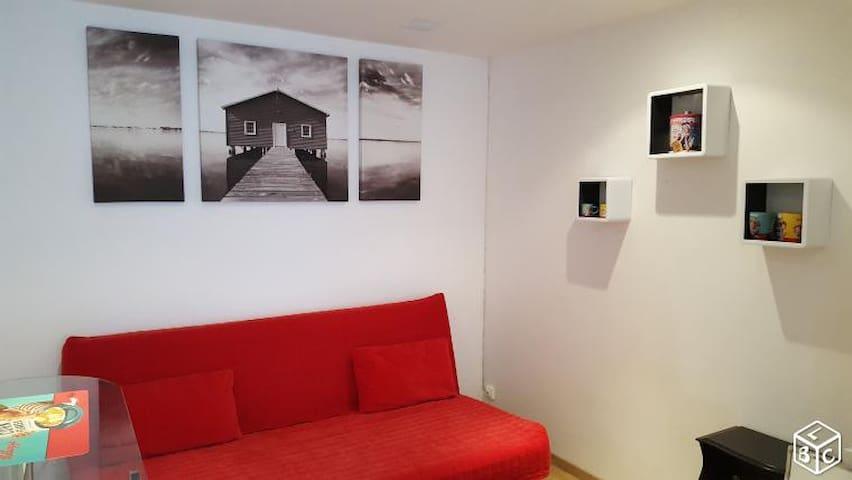 Studio meublé Hypercentre de Nantes - Cathédrale - Nantes - Byt