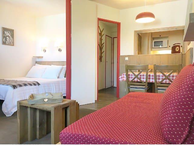 1bedroom flat - great view - heart of Chamonix
