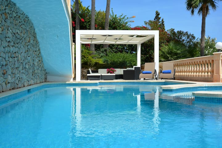 Villa next beach and golf Amazing views July offer