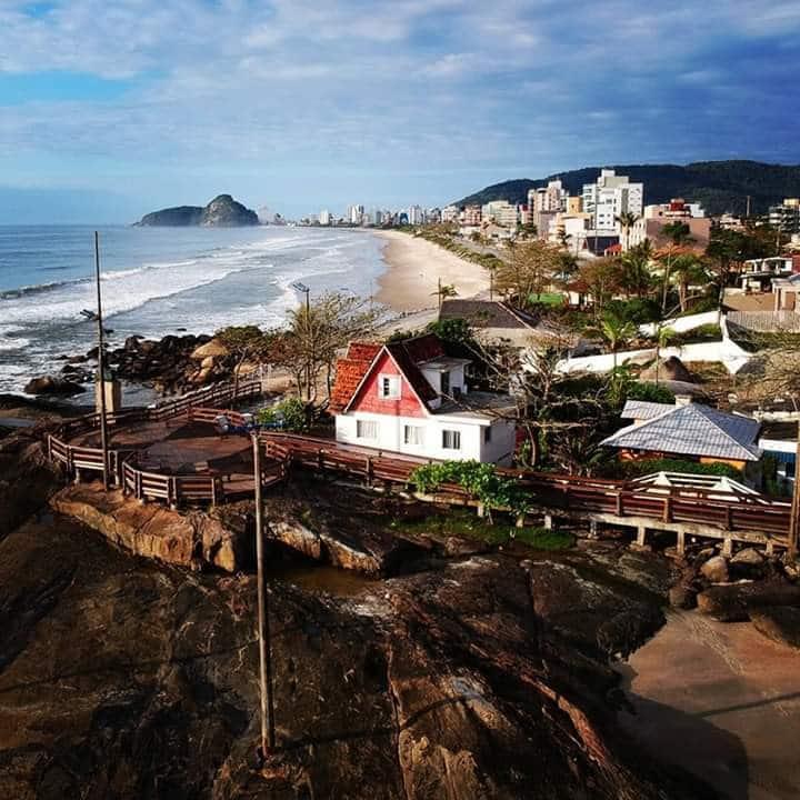 Casa Nas Pedras Matinhos, PICO(surf) - Frente-Mar