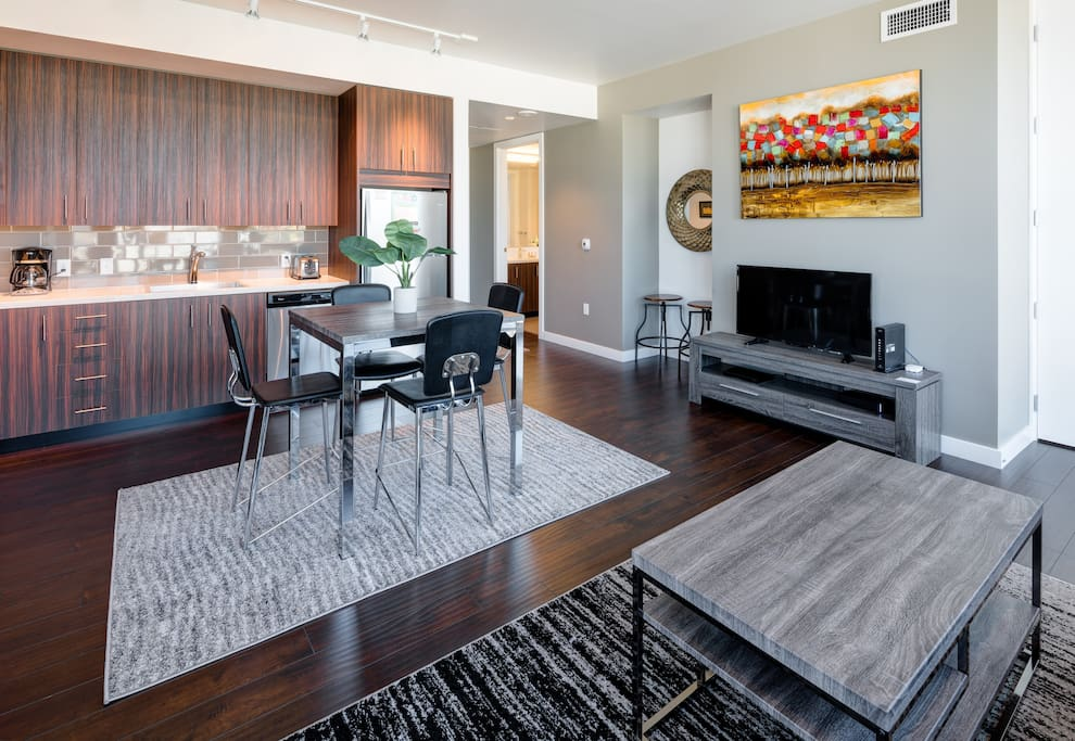 Dining Area at Park Avenue West by Stay Alfred