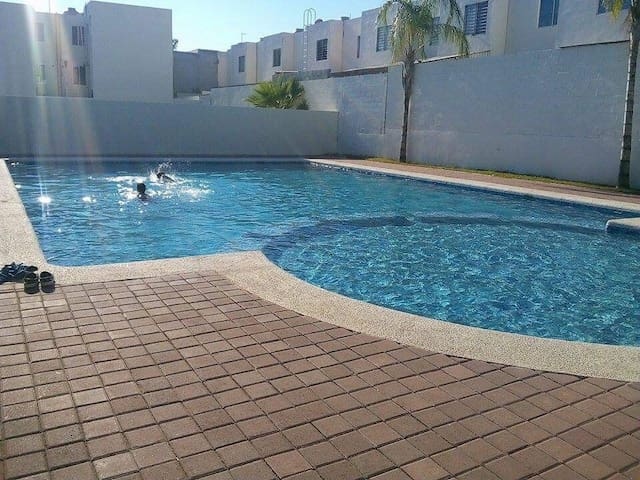 fully furnished apartment in Mazatlán.