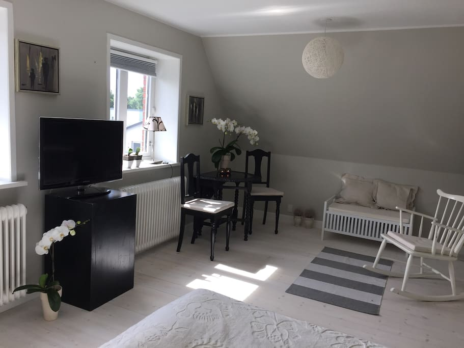 25 km2 apartment with TV and free WIFI