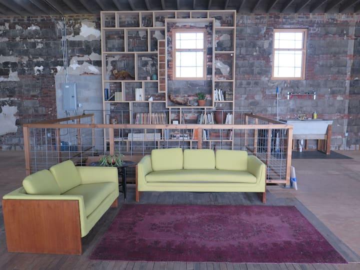 Eccentric Apartment Inside an Art Gallery
