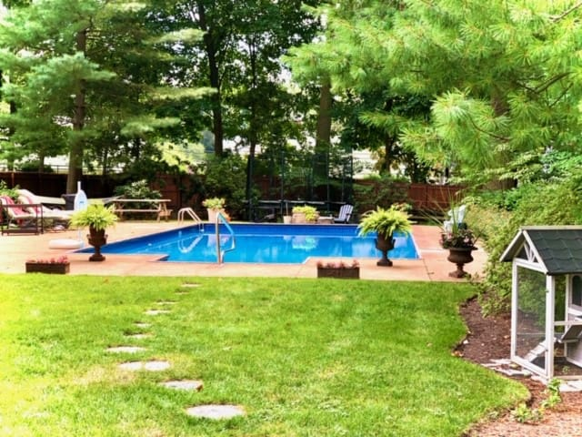 Share this historic home with a pool, and more!