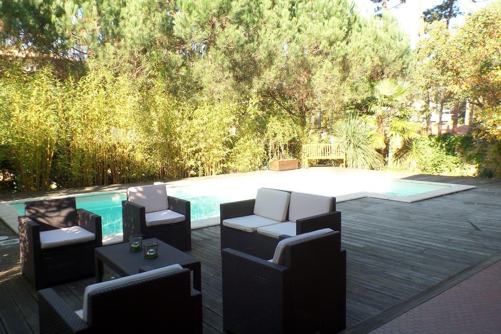 Maison sur le bassin d arcachon maisons louer l ge for Maison a louer cap ferret avec piscine