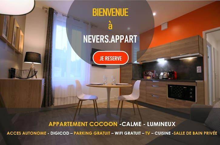 RDC Appartement  - Cosy-Calme et Lumineux -