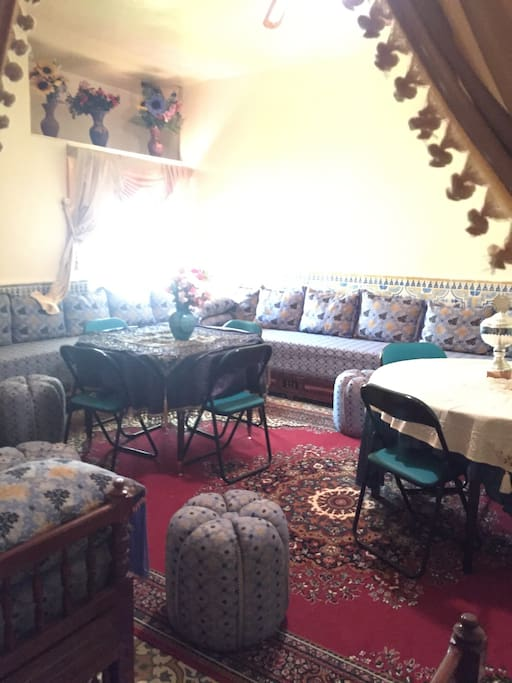 grande maison traditionnelle houses for rent in moulay. Black Bedroom Furniture Sets. Home Design Ideas
